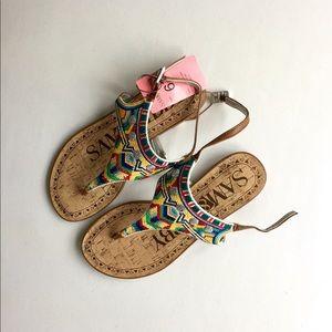 Sam & Libby Aztec style summer sandals